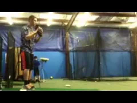Casey Williams RHP Greenbrier Christian Academy pitching vid1