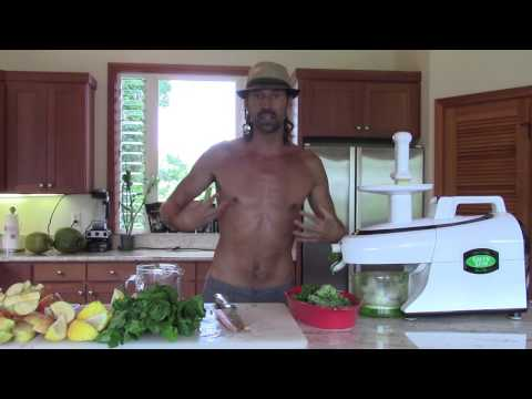 HEALTH FOOD RECIPES ~ GREEN JUICE FOR ENERGY AND DETOX