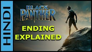 Black Panther Ending Explained In HINDI | Black Panther | Black Panther Spoiler Review IN HINDI