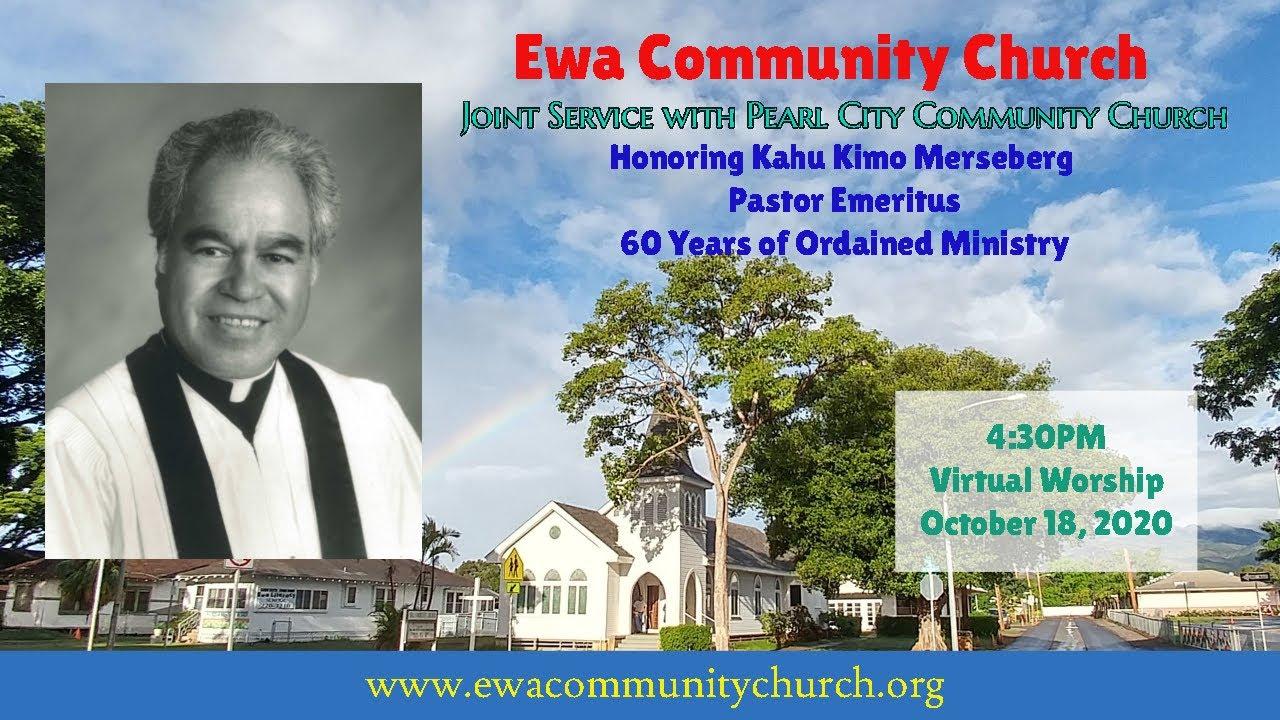 Ewa Community Church - Kahu Kimo Merseberg