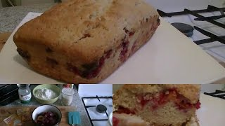 Ну очень вкусный пирог со сливой (постный)