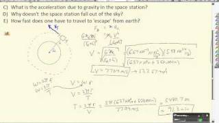 [DH-36] Orbital Mechanics of the International Space Station