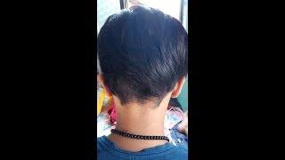 Mumbai's Girl Getting Short Haircut (Pixie Haircut)
