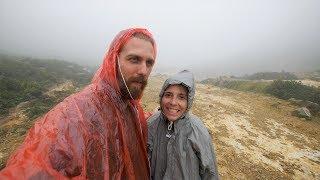 Sch**ß Wetter - Mit Flip Flops auf den Mount Sibayak l Berastagi Vlog #2