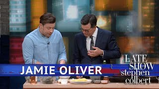 Chef Jamie Oliver Only Needs Five Ingredients