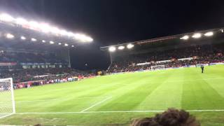 Stoke City vs Sheffield Wednesday Players Entrance