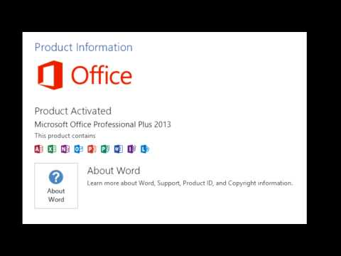 Microsoft Office Home and Business 2013 Product Key Full Free Download