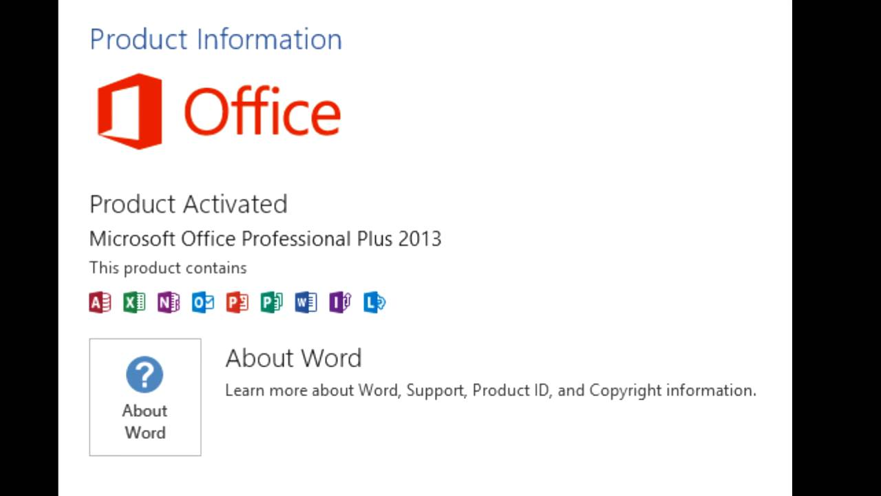 What is a Microsoft Word product key?