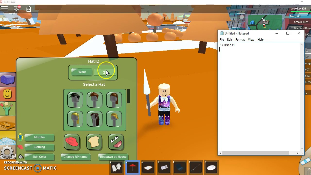 How To Find Hat Codes on Roblox - YouTube