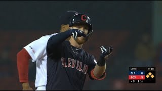 Explosive 9th Inning Powers The Indians Past The Red Sox