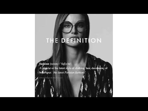Alessandra Ambrosio Defines 'Fashion'