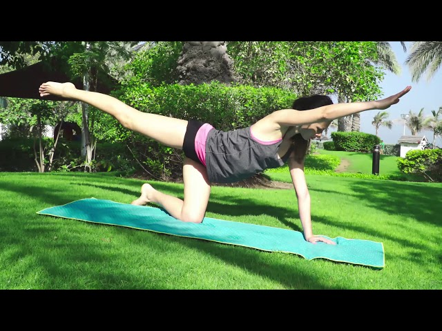 Front Split Series. Part 4. Short and easy Sequence. Only 3 Minutes!