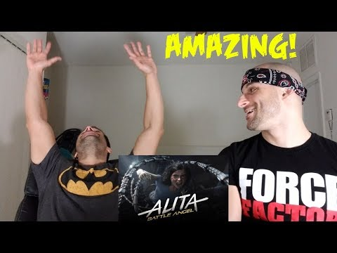 Alita: Battle Angel | Official Trailer [REACTION]
