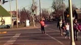 School Crossing Guard  Was This Fun and Nutty Guard Yours ?