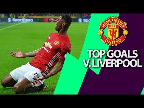 Manchester Uniteds top 5 goals v. Liverpool | Premier League | NBC Sports