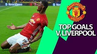 Manchester United's top 5 goals v. Liverpool | Premier League | NBC Sports