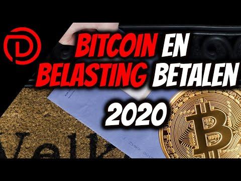 Bitcoin En Belasting Betalen 2020 /.2021