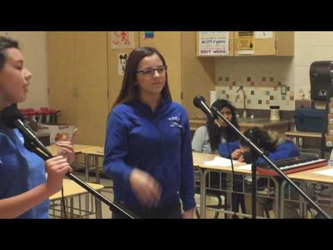 "Emily & Deanna - ""Never Forget You"" - Chorus class karaoke"