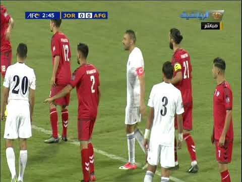 Jordan vs Afghanistan | AFC Asian Cup Qualification | Full Match
