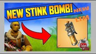 NEW FORTNITE UPDATE! *NEW* LTM FINAL FIGHT// *NEW* STINK BOMB & MORE!