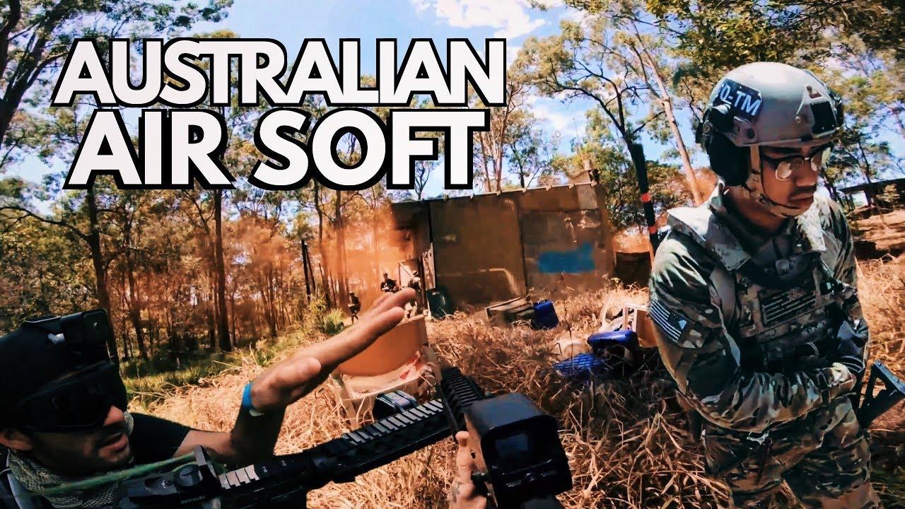 AUSTRALIA'S VERSION OF AIRSOFT