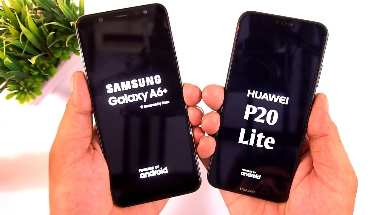 Samsung Galaxy A6+ vs Huawei P20 Lite Camera and Speed