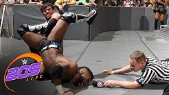 "Cedric Alexander vs. Noam Dar - ""I Quit Match"": WWE 205 Live, July 11, 2017"
