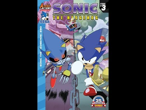 Sonic Comics Dubbed: Issue #290 - Genesis of a Hero: Sonic's Cease and Desist