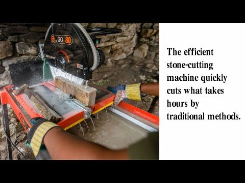 Efficient Stone-cutting & Construction - Build up Nepal