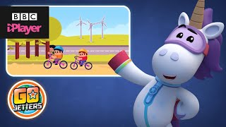 Ubercorn Funky Facts on Climate Change | Go Jetters | CBeebies