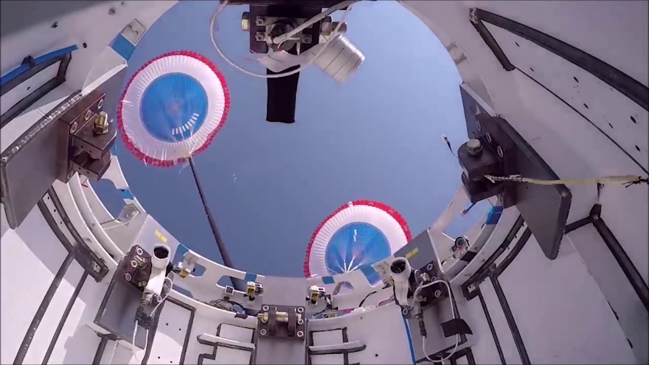 Boeing Starliner Parachute Test (June 21)