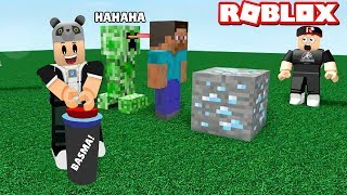Don't press the button! Angry Creeper Arrives - Roblox Don't Press The Button with Panda