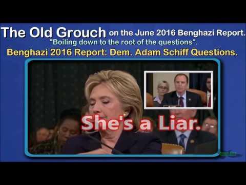 Benghazi 2016 Report: Dem. Adam Schiff Questions. OGB 37 of 41.