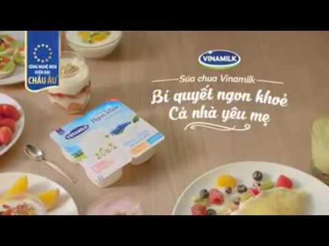 Quảng cáo sữa chua Vinamilk phiên bản chậm tua ngược