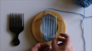 How-To Part 2A: Stąrt Weaving a Hexagon Using the Bias Weave Method (RIGHT HANDED)