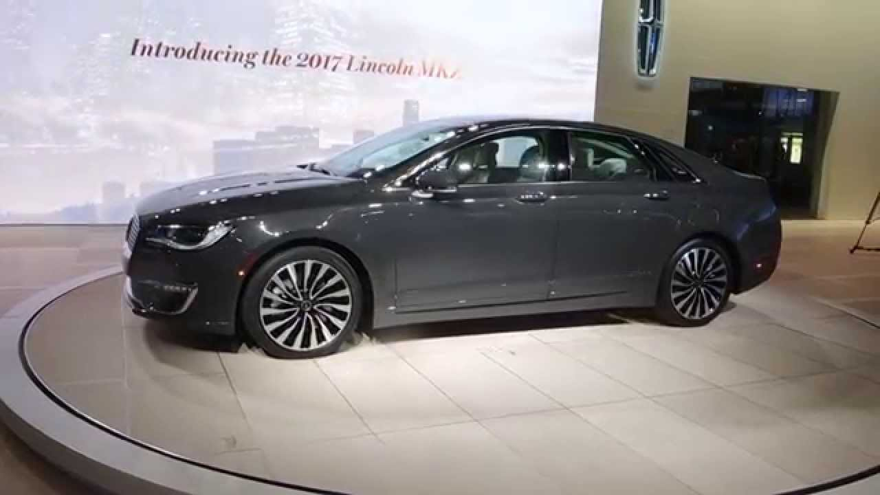 2017 lincoln mkz at the l a autoshow youtube. Black Bedroom Furniture Sets. Home Design Ideas