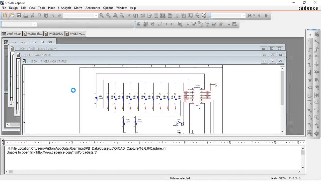 How to export to PDF with Orcad 16 6