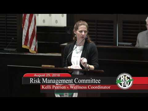 Risk Management Committee - August 25, 2016