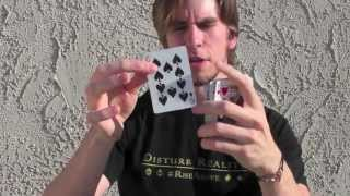 David Blaine Card Trick Tutorial -  magic w/ Jenna Marbles