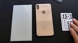 Поклейка бронеплівки GeekSkins Apple iPhone XS Max