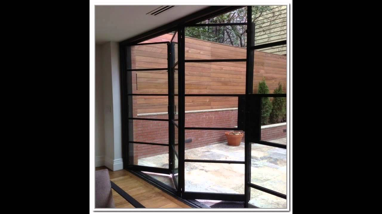 Steel French Doors Youtube
