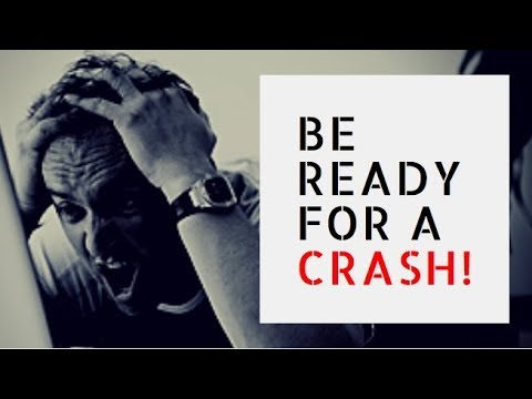 STOCK MARKET CRASH – BE PREPARED IN 4 STEPS