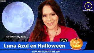 LUNA AZUL en Halloween (Parte 2) OCT 31, 2020 y Cómo Afectará a Cada Signo