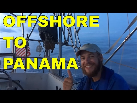 Sailing Offshore to Panama, Shelter Bay Marina, Panama Canal, and Checking in Colon, Panama-S1E9