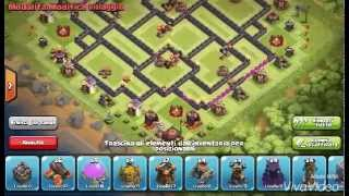 Clash of clans TH10 275 walls farming base
