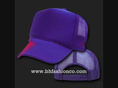 COOL CUSTOM BLANK TRUCKER MESH HATS CAPS - WWW.BHFASHIONCO.COM