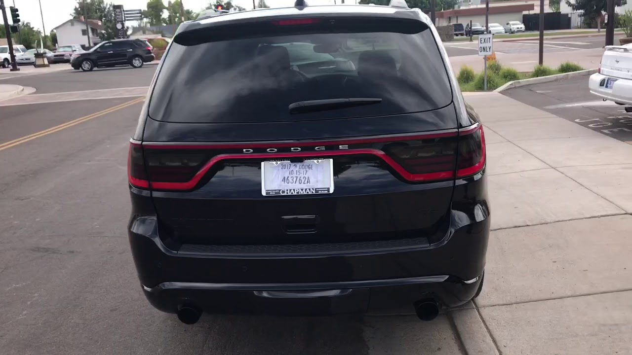 2017 Dodge Durango Rt Custom Exhaust