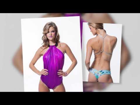 Nina Agdal Looks Amazing Modeling New Swimsuit Line | Splash News TV | Splash News TV