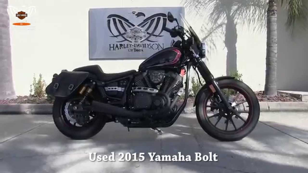 Used 2015 yamaha bolt motorcycles for sale in tampa for Used yamaha bolt