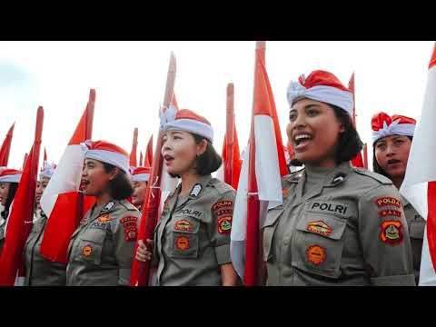 bendera-merah-putih-terbentang-panjang-di-bali,-pecahkan-rekor
